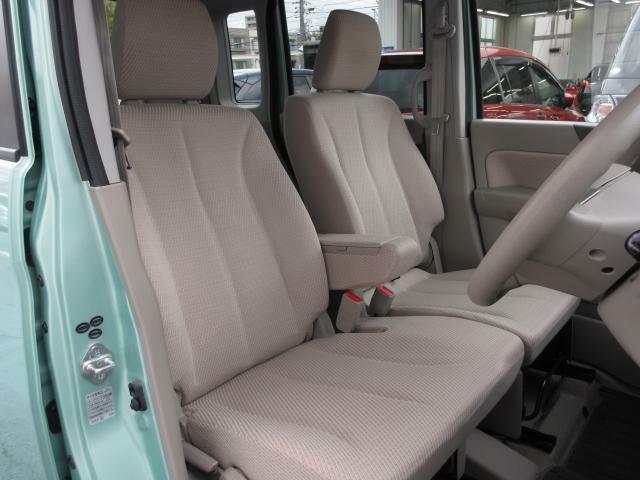 アイポイントが高く、運転がしやすいだけでなく、スペースしっかり確保されております!