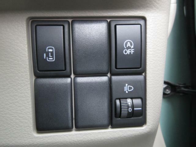 片側電動スライドドアで乗り降り楽々です!運転席のスイッチからも操作可能な優れものです!