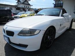 BMW Z4 ロードスター2.5i 検4年4月 HDDナビ ADVAN19インチ