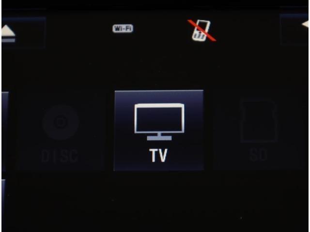 フルセグチューナー搭載で、全国どこでもきれいなTVが見れます。