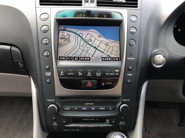純正HDDナビなので、録音も可能ですよ☆高級車って音漏れしないんですね(笑)