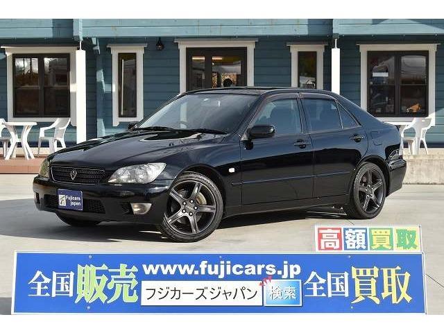 H16 アルテッツァ RS200リミテッドII 後期型 入庫致しました☆