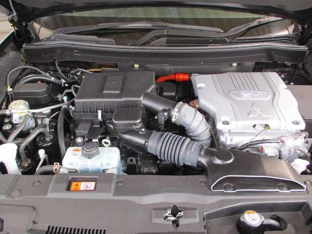 2400cc 4B12型 MIVEC DOHC16バルブ・4気筒エンジン