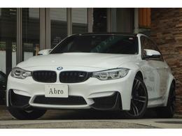 BMW M3セダン M DCT ドライブロジック カーボンルーフ HDDナビ バックカメラ