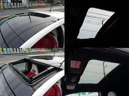 ◆サンルーフ◆アバルト595では珍しいサンルーフ付きの車両です!◆