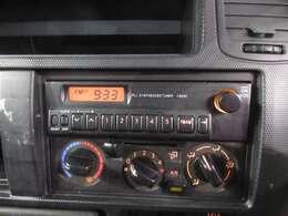 純正ラジオ付きです★ マニュアルエアコンです☆