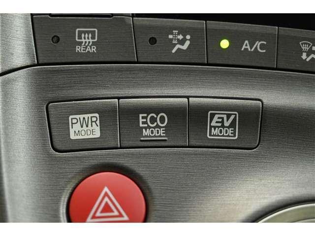 ◎パワーモードスイッチ、◎ECO MODEスイッチ、◎EVドライブモードスイッチ 装備