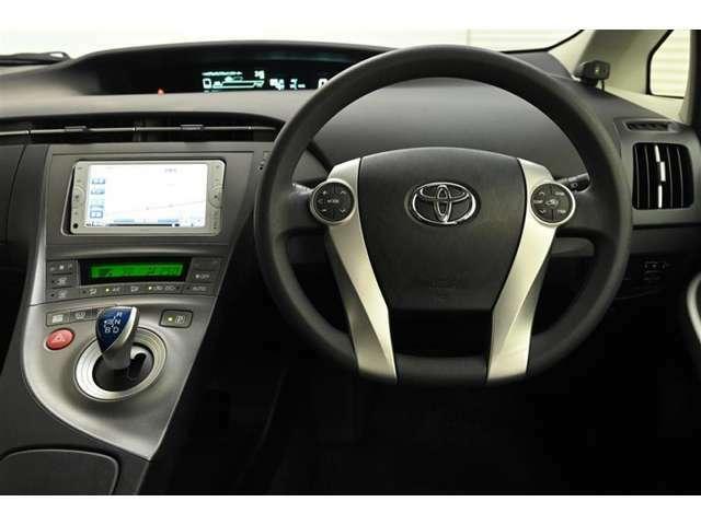 ドライバー目線の画像です。
