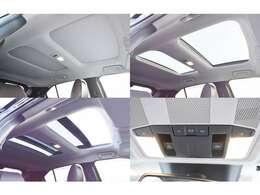 電動パノラマサンルーフ(チルト&スライド・セーフティ機構付)装備!車内は明るくサンルーフからの眺めはいつもの道も違う景色に見えて爽快なドライブを演出します☆