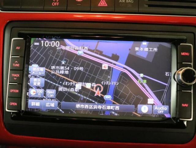 地デジTV、CDDVDプレーヤー、FMAMラジオ、Bluetoothオーディオも完備です。
