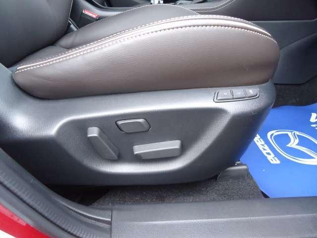 パワーシート付、ドライブポジションにより、快適なドライブが、楽しめます。