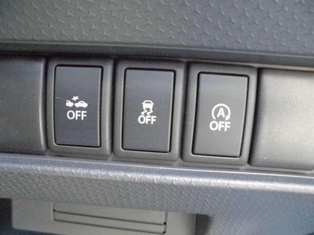安全装備も充実!セーフティ―ドライブの手助けをします!