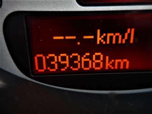 走行はこんな感じの39000km台をキープしていますよ