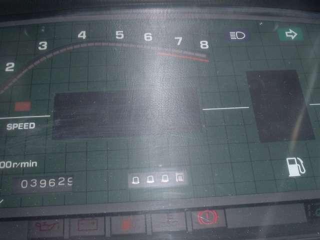 デジタルスピードメーター