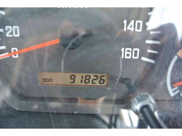 まだまだ現役!走行距離91826km!