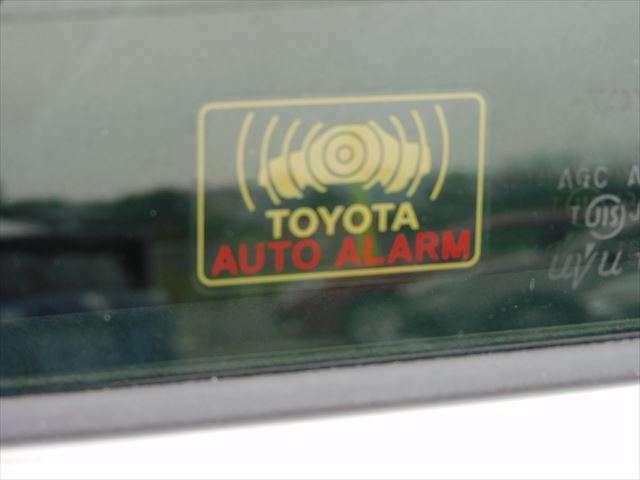 安心のセキュリティ付き!お車を車上荒らしなどから防いでくれます!
