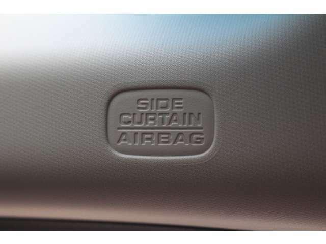 サイドカーテンエアバックシステムを装備。実際の事故で優れた保護性能を発揮します。