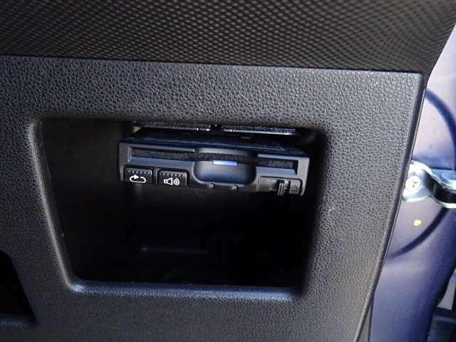 パナソニック製ETC車載器も付いております。ETCセットアップも当店にて行います。