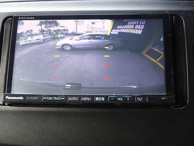 バックカメラも付いおり、後方確認もしっかり可能です。