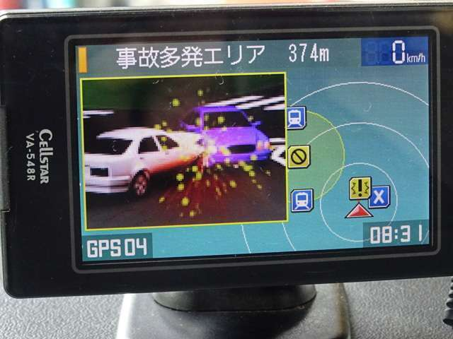 GPSレーダーも装備!