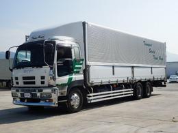 いすゞ ギガ アルミウィング アルミウィング 最大積載量13000キロ