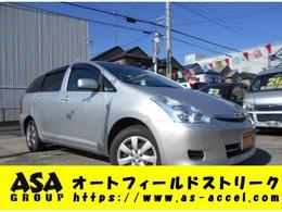 トヨタ ウィッシュ 1.8 X 4WD 7人乗り キーレス CD ETC