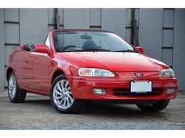トヨタ サイノスコンバーチブル 1.3アルファ コンバーチブル 幌新品交換済 タイヤ新品交換済