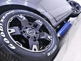 17inchFLEXオリジナル【Delf03】アルミホイール&17inchグットイヤーナスカータイヤ装着!