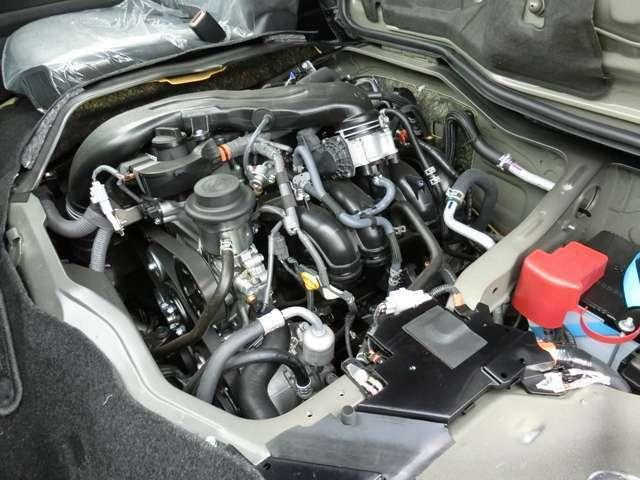 2700ccガソリンエンジン(2TR-FE型タイミングチェーン式)が搭載されています。