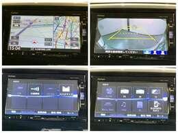 ナビ175VFiRカメ Bluetooth フルセグ DVD CD録音 インターナビ こちらはナビゲーションの各画面です。安心のバックカメラなどドライブの快適サポートが満載です。