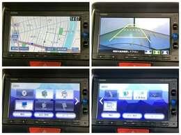 ナビ164VFXi Rカメ Bluetooth フルセグ DVD インターナビリンク対応 純正ナビゲーションの各画面です。安心のバックカメラなどドライブの快適サポートが満載です!