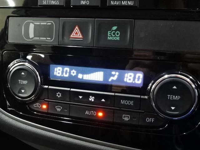 【オートエアコン】車内温度をセンサーが感知してご希望の車内温度になるよう、風量も自動で調整してくれます☆