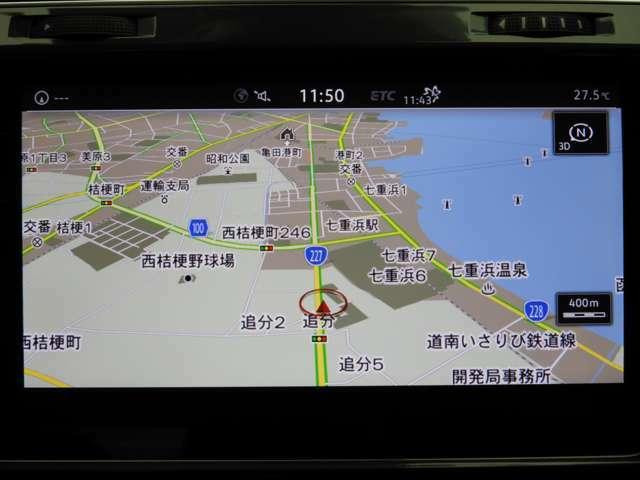 ☆DiscoverPro:大型全面タッチスクリーンを採用。従来のナビゲーションシステムの域を超える、車両を総合的に管理するインフォテインメントシステムです。☆