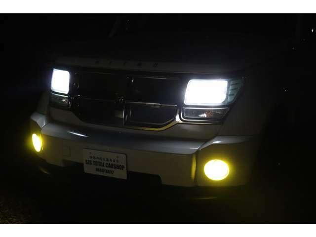 切り替え式LEDフォグランプです☆
