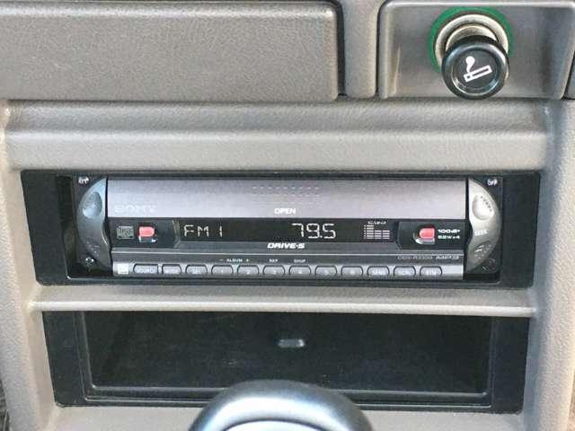 古い希少価値のあるデッキ付き!CD/ラジオ動作確認済みです☆
