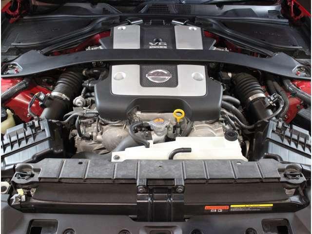 VQ37 NAエンジンを搭載!!NAならではのサウンドが楽しめます!!