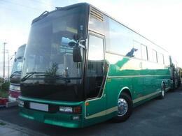 いすゞ スーパークルーザー スーパーハイデッカー 観光バス 55人乗り 12m 6MT 全席モケリク サロン