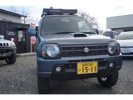 スズキ ジムニー 660 ワイルドウインド 4WD スタッドレスルーフラックナビテレビ