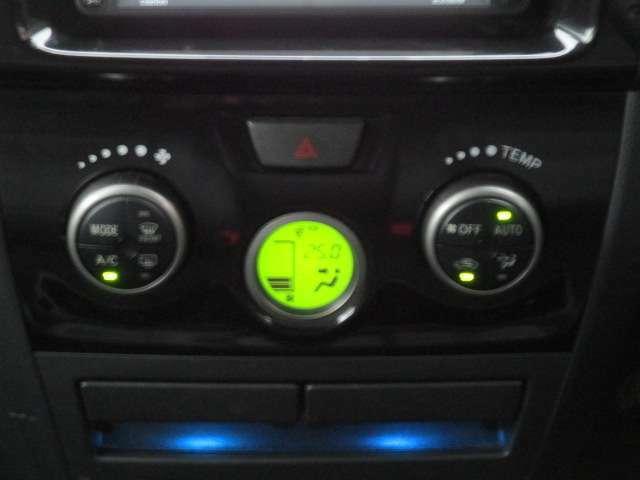 ワンタッチで車内快適空間オートエアコン