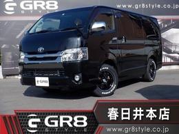トヨタ ハイエースバン 2.0 スーパーGL ダークプライム ロングボディ SDナビTV/Bカメラ/16inAW/ベッドキット/