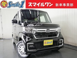 ホンダ N-BOX カスタム 660 L ターボ 新車/装備10点付 7型ナビ ドラレコ