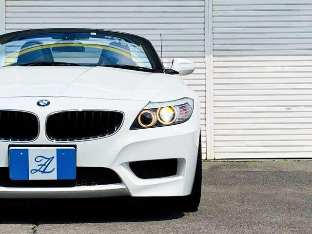 ★アルピンホワイト、Mスポーツ、直6と絞ると全国的にも数台しかないのでは!?BMWの「シルキーシックス」をご体感して頂ける希少な1台です!Z4ならではの爽快感とMスポーツならではのスポーティーな装備が◎!★