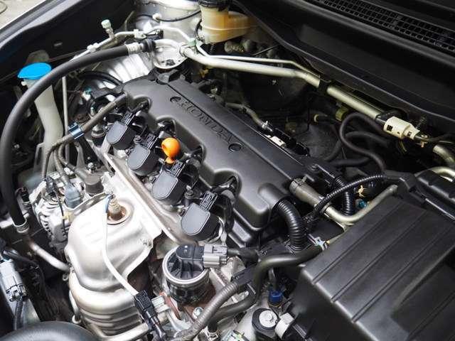 R18A型 1.8L 直列4気筒SOHC i-VTECエンジン搭載です