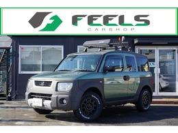 ホンダ エレメント 2.4 4WD 新品MTタイヤ 社外16アルミ ナビ地デジ