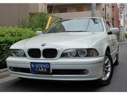 BMW 5シリーズ 525i セレクション 限定車 サンルーフ 黒ナッパレザー 禁煙車