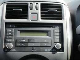 CDチューナー付きで車内は快適です☆