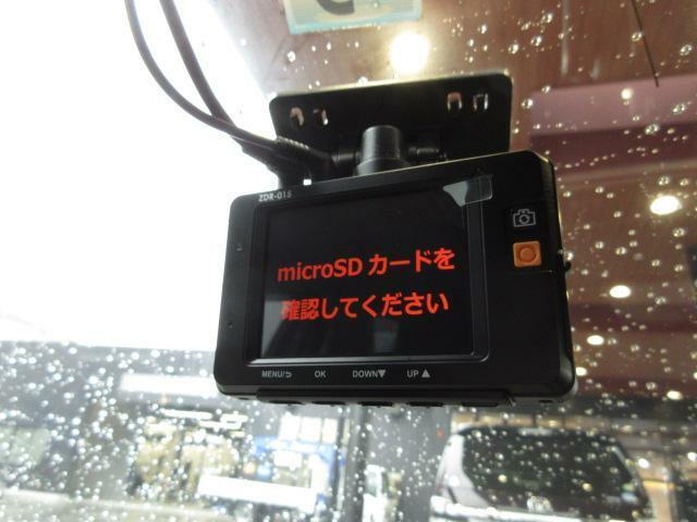 ドライブレコーダー付き☆SDカードは別売です。