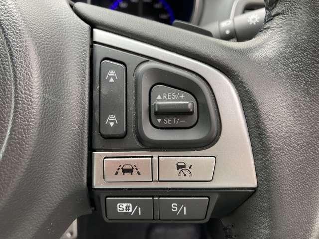 ◆全車速追従機能付クルーズコントロール【高速道路で0km/hから100km/hの広い車速域で先行車に追従走行。アクセルを離しても一定速度で走れる装備です。】