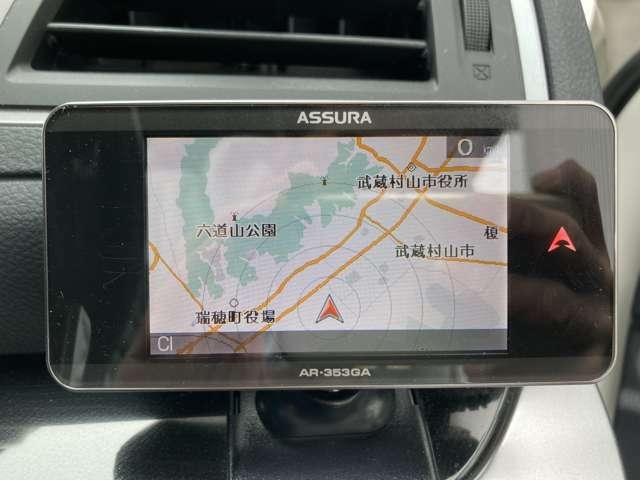 ◆社外GPSレーダー【車好きの方にとても人気のある装備の一つです。】
