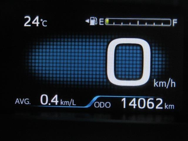 走行距離は少なく、およそ14,000kmです。